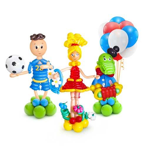 Персонажи из шаров