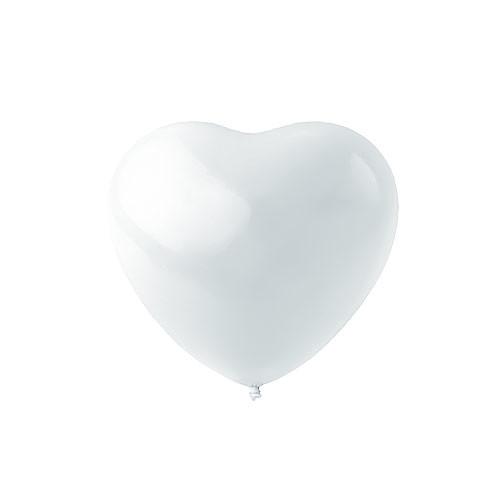 Гелиевый шар Сердце Белое купить