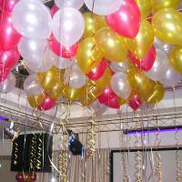 Гелиевые шары, металлик, фото 1