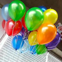 Гелиевые шары, металлик, фото 2