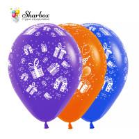 Воздушные шары Подарки Для Тебя Blue-Orange-Violet