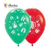 Воздушные шары Подарки Для Тебя Green-Red