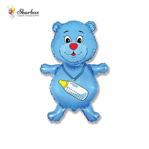 Фольгированный Шар фигура, Медвежонок-девочка