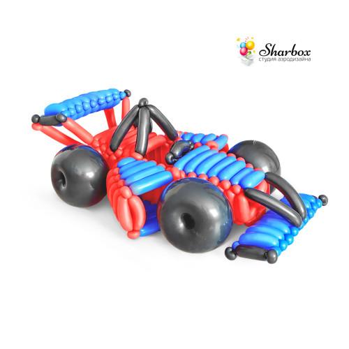 Фигура из шаров Болид Формулы 1