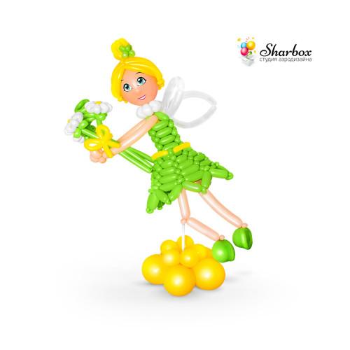 Фигурка «Фея Динь-Динь» из шаров