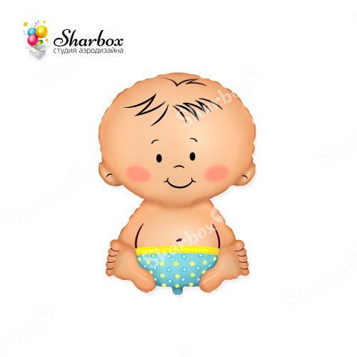 Шар-фигура Малыш с гелием