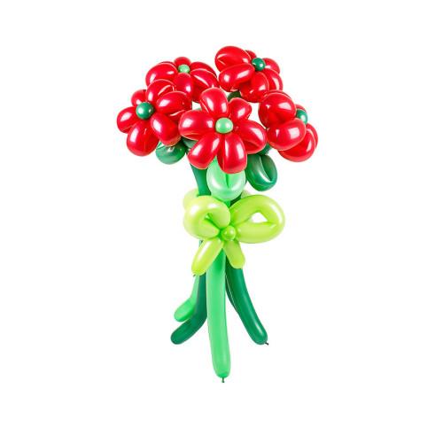 Букет из шаров, 5 цветов