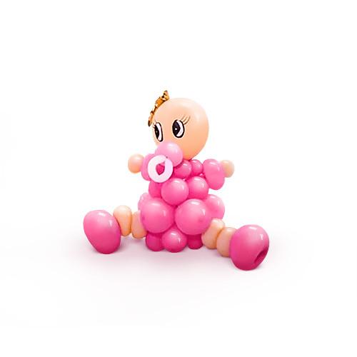 Фигурка малыша из шаров