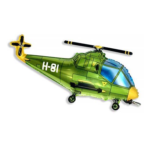 Шар фигура, Вертолет, зеленый