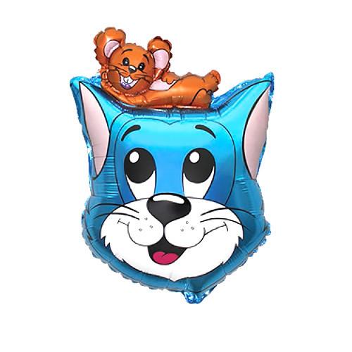 Шар фигура, Кот, синий