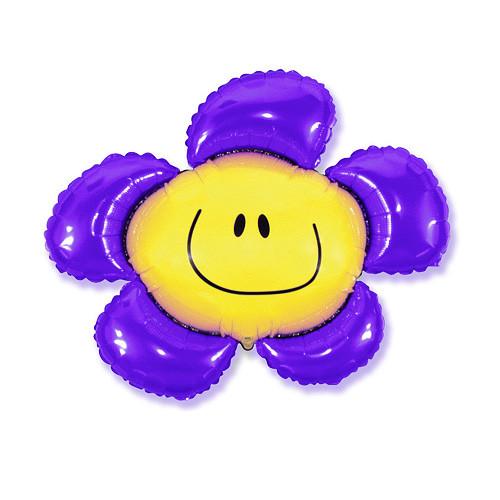 Шар фигура, Солнечная улыбка, фиолетовый