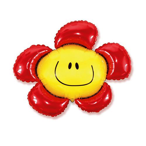 Шар фигура, Солнечная улыбка, красный