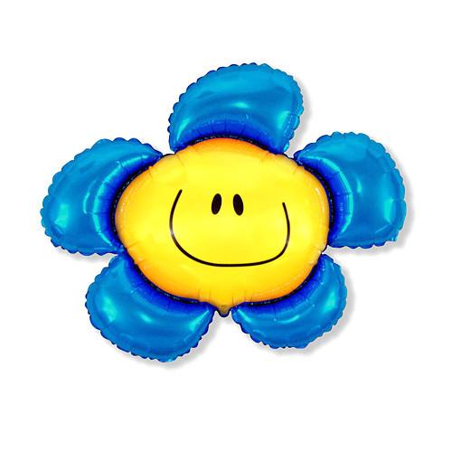 Шар фигура, Солнечная улыбка, синий