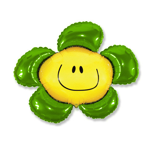 Шар фигура, Солнечная улыбка, зеленый