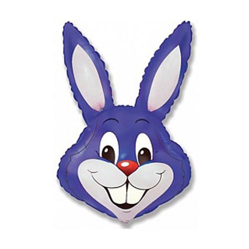 Шар фигура, Заяц, фиолетовый