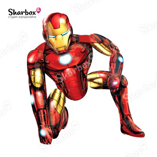 Ходячий шар фигура Железный Человек ходячка