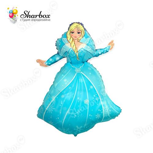 Воздушный шар Принцесса Эльза с гелием