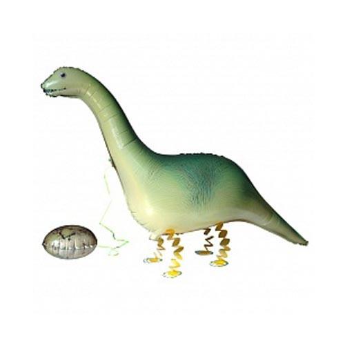 Шар фигура ходячая Динозавр с яйцом
