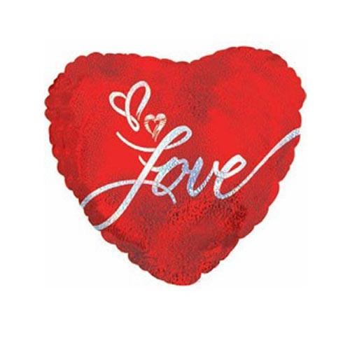 Шар Сердце Просто люблю тебя