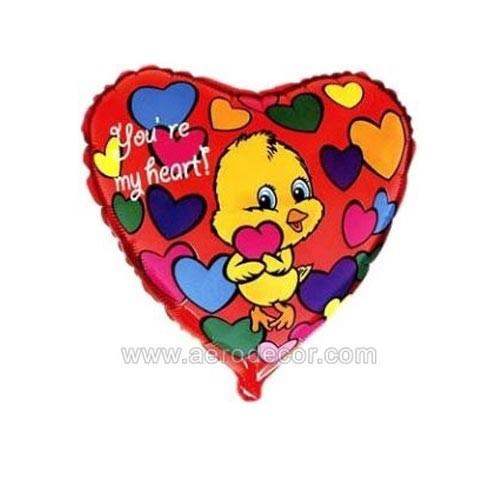Шар Сердце Влюбленный утенок