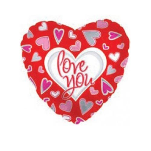 Шар Сердце Я люблю тебя (причудливые сердца)