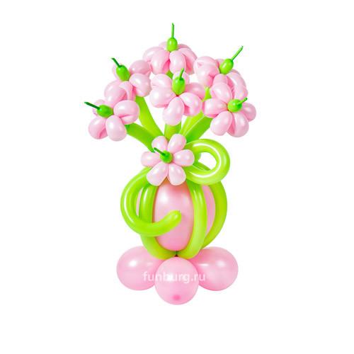 Букет из шаров Цветочная поляна. 7 цветов