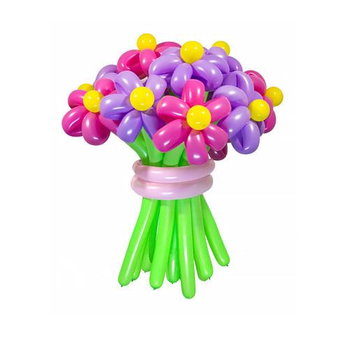 Букет из шаров Забава, 13 цветов