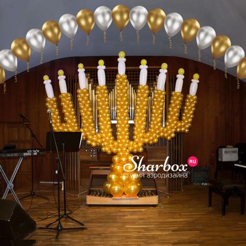 Оформление органного зала