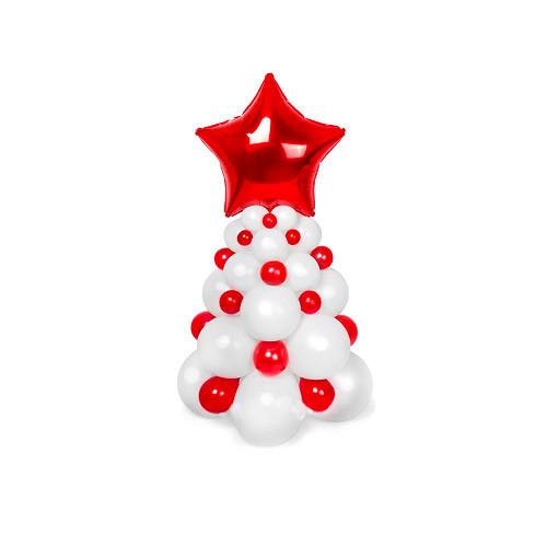 Фигура Ёлка из шаров №2