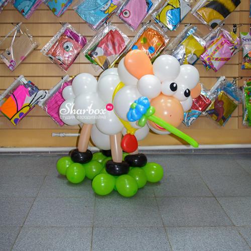 Барашек из шаров