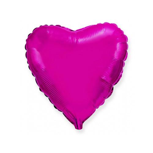 Шар Сердце, лиловый