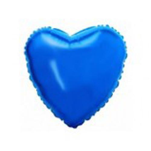 Шар Сердце, синий