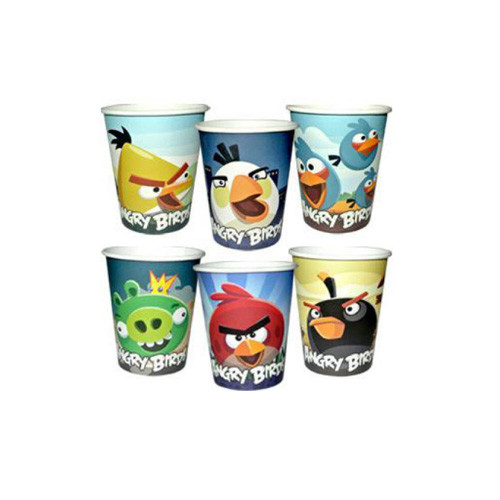 Стакан одноразовый Angry Birds