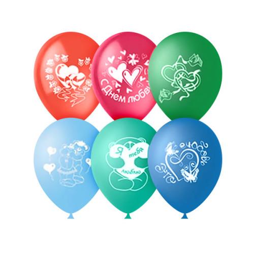 Воздушные шары Романтика. Ассорти, пастель