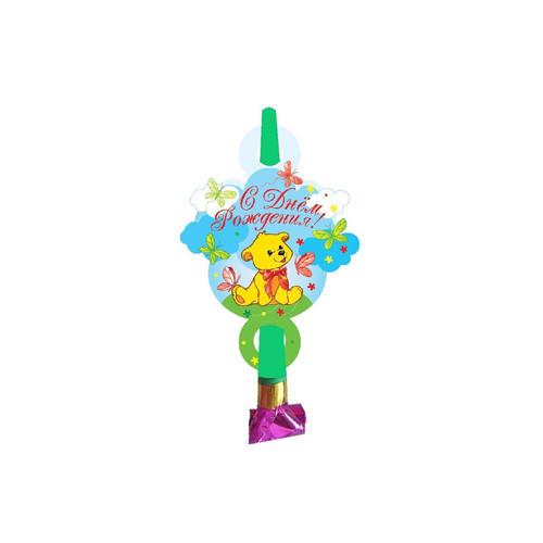 Язычок-гудок С днем рождения, мишка
