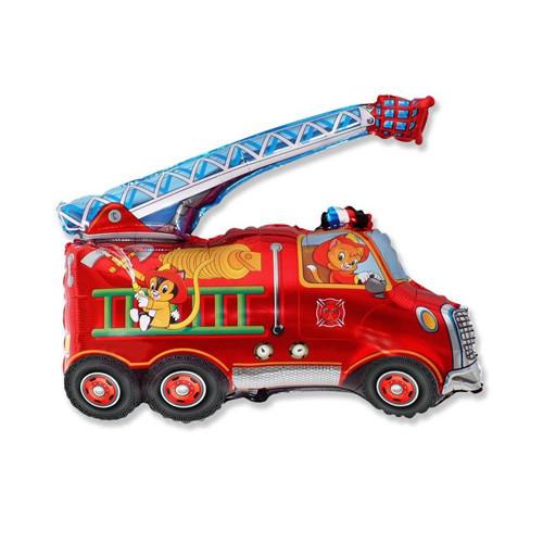 Шар фигура, Пожарная машина