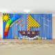 Воздушное Оформление в детском саду Корабль из шаров