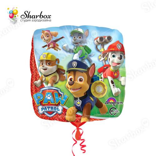 Воздушный шар Щенячий патруль в подарок