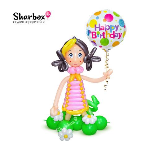 500-062 Кукла из шариков