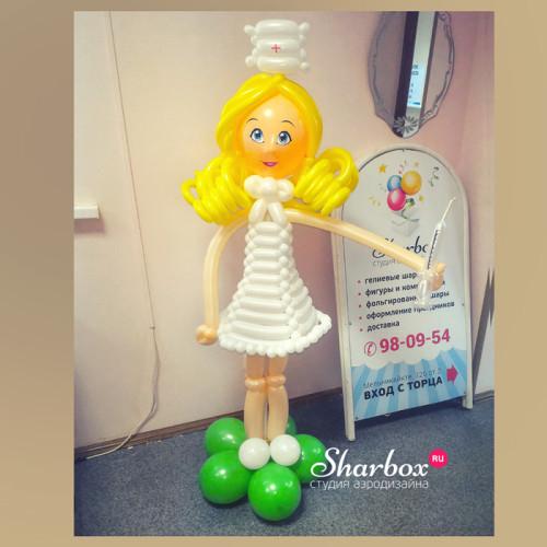 Медсестра из шариков