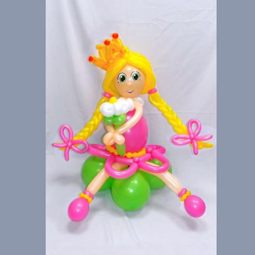 Принцесса Маша из шариков