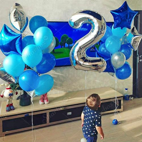 Оформление дня Рождения на 2 года