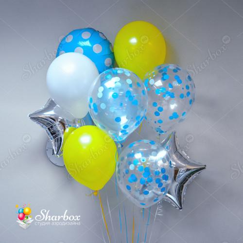 Связка воздушных шаров Для мальчика 2