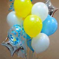 Связка воздушных шаров Для мальчика
