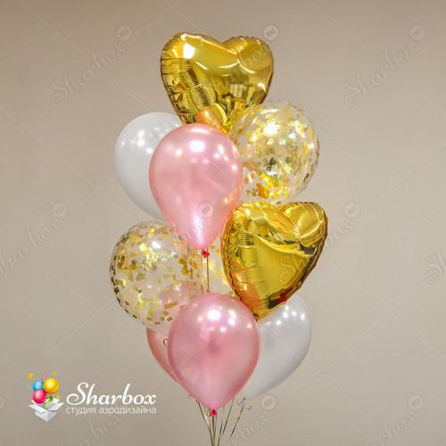 Набор шаров Любовь и нежность