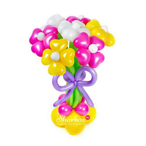 Цветы из шаров Карамель