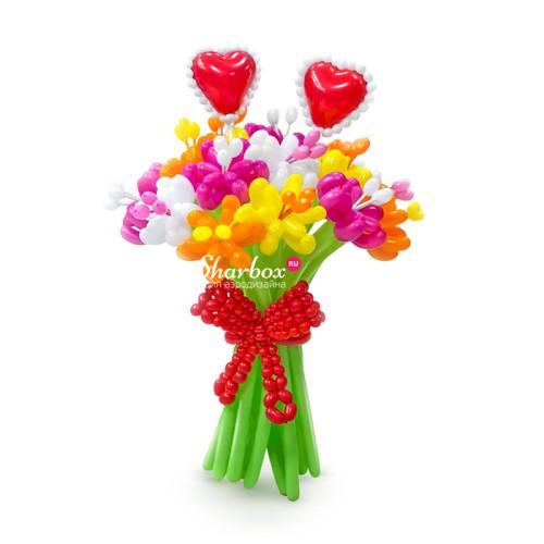 Цветы из шаров — Вальс сердец