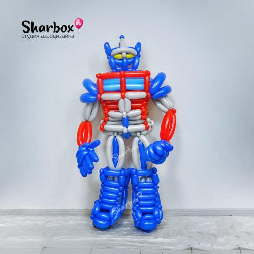 Супер-робот фигура из шаров