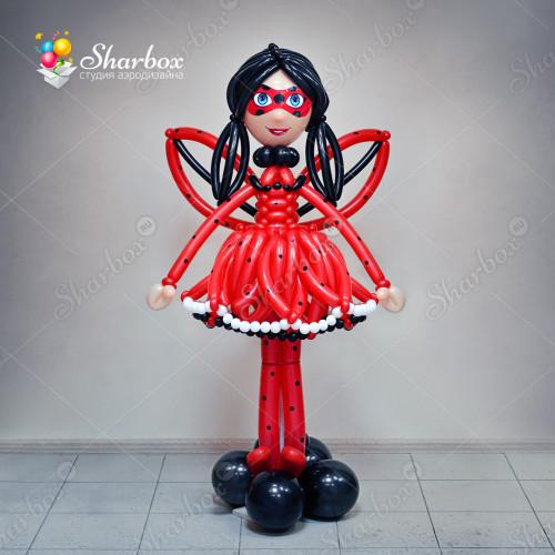 Девочка из шариков Ледибаг