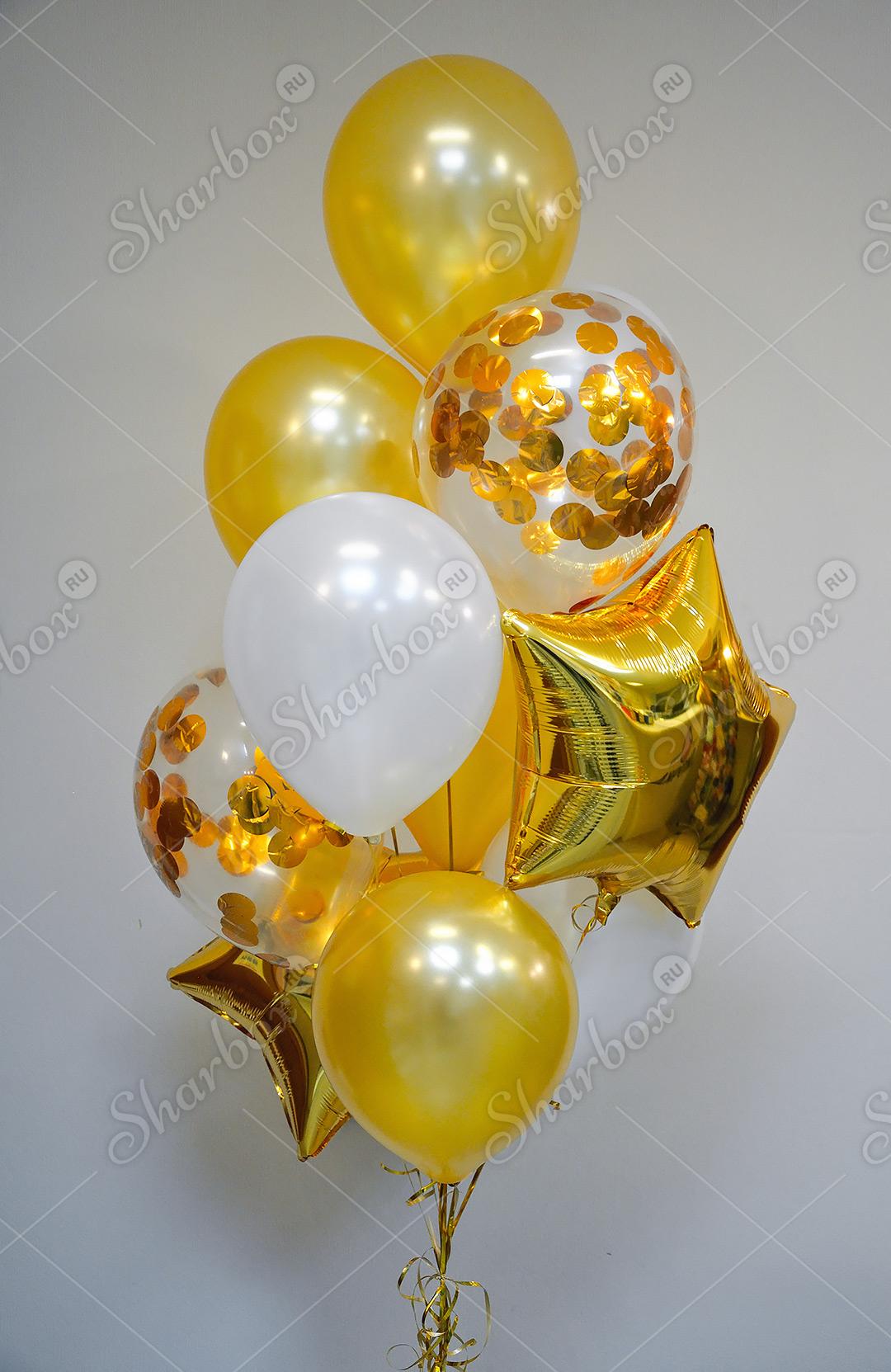 фонтаны фото из шаров